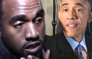 Kanye West and President Obama Friends