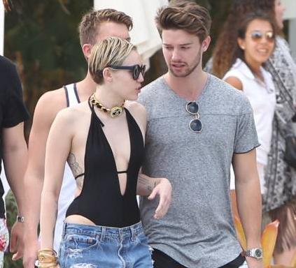 Patrick Schwarzenegger Miley Cyrus