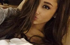 Ariana Grande new hairstyle selfie